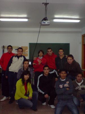Alumnos de  4º
